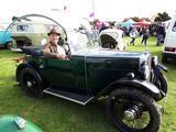 1933 Morris Minor Green Black Paddy Reardon