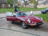1970 Jaguar E Type Regency Red Drew Laurianti