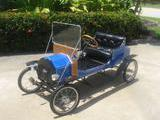 1908 CycleKart Vintage Blue Rick Eggers