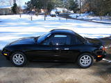 1994 Mazda Miata Special Edition ORIGINAL BRILLIANT BLACK PAINT Todd Rupp