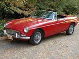 1965 MG MGB MkI Tartan Red Mike Duvall