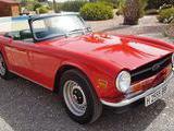 1970 Triumph TR6 Signal Red Dave Lewis