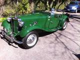 1952 MG TD Green Doug Johnson