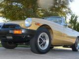 1976 MG MGB Gold Gary Sandusky