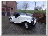 1936 Triumph Southern Cross White Dirk Devogeleer
