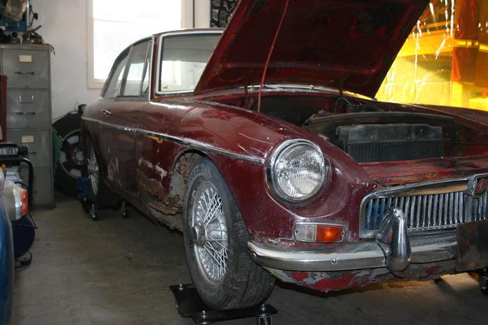 1967 MG MGB GT (GHD3L84559) : Registry : The Mini Shrine