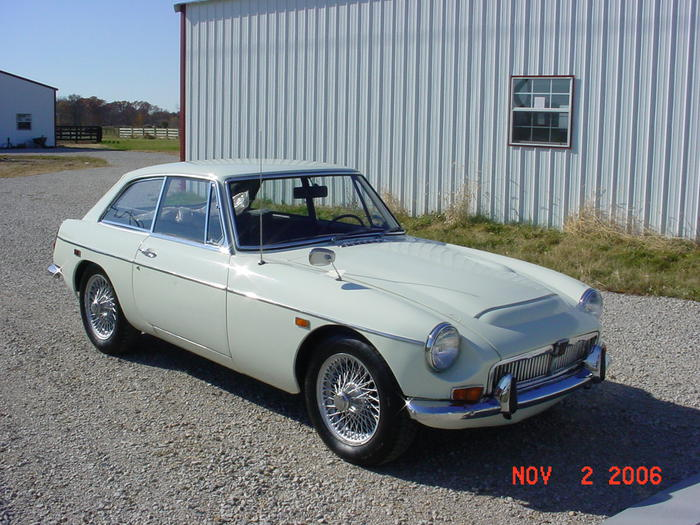 1969 MG MGC GT (GCD1U9004G) : Registry : MX-5 Miata World