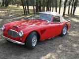 1960 Austin Healey 3000 BT7 Colorado Red Bill May