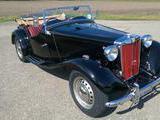 1950 MG TD Black Red Thomas Haug