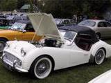 1959 Triumph TR3A Old English White Barry Shefner