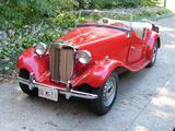 1950 MG TD Red Mike Duvall