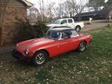 1978 MG MGB Flamenco Red Russell Poteat