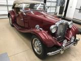 1953 MG TD Burgundy Pete Rogers
