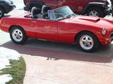 1979 MG MGB V8 Conversion Viper Red Mike Christman