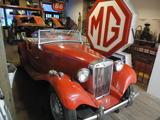 1950 MG TD Red Fred Bohart