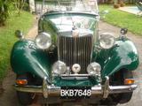 1950 MG TD MkII British Racing Green Ivo Fodor