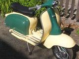 1961 Lambretta TV 175 Series II Velvet Green And Ivory Miles TeSelle