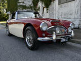 1964 Austin Healey 3000 Burgundy And White Mike Gassman
