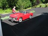 1963 MG Midget MkI RED AARON SULESKE