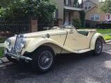 1954 MG TF Ivory BMC Code YL5 Green Rick Huber