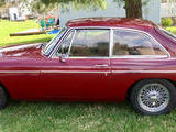 1967 MG MGB GT Dark Red Chuck Gaines
