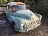 1961 Morris Minor 1000 Saloon 4 door