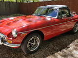 1980 MG MGB MkIV Red Bryan Amsel