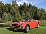 1969 Triumph TR6 Red Risto Retroauto