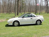 1987 Toyota MR2 GT T Bar Super White Joanne H