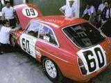 1967 MG Works MGB GT Racecar