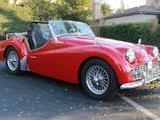 1963 Triumph TR3B Red Mark Elfont
