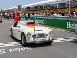 1961 Austin Healey 3000 BN7 Old English White Roger Hamel