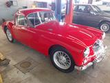 1970 MG MGA 1500 Coupe Red William Miller