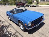 1974 Triumph TR6 BLUE Steve Hughes