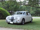 1963 Jaguar Mark 2 White Dean Mericas