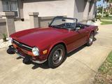 1974 Triumph TR6 Carmine Red John Greenwood