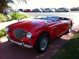 1955 Austin Healey 100 Guards Red Lou G