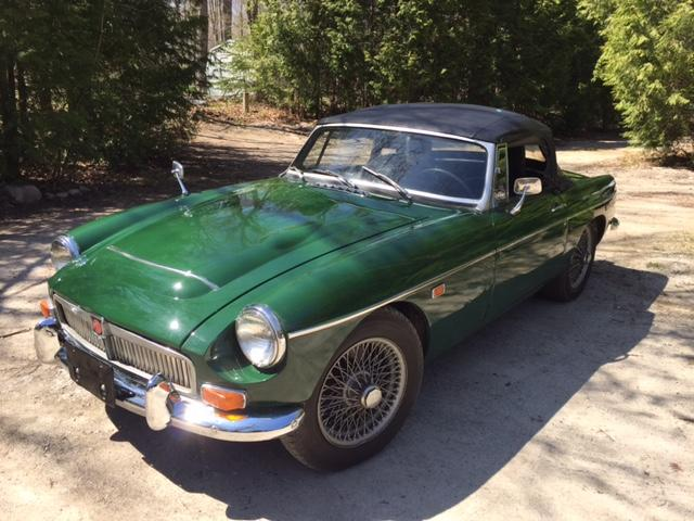 For Sale: 1969 MG MGC (GCN1A8212) : Registry : The