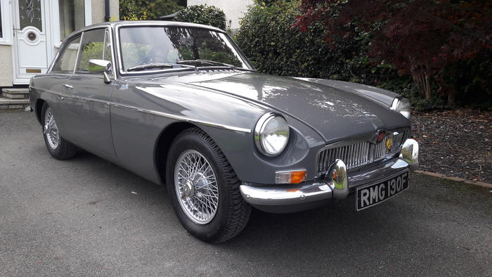 1967 MG MGB GT (GHD3125884) : Registry : The AutoShrine Network
