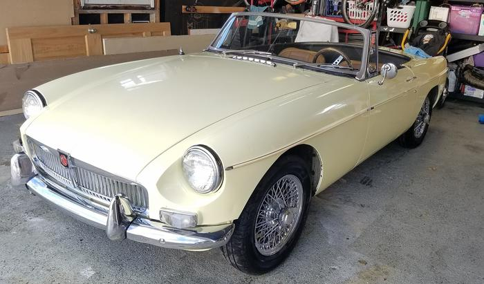 1967 MG MGB MkI (GHN3L132555) : Registry : The AutoShrine Network