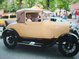 1929 Ford Model A Sport Coupe Cigarette Cream Ford Maroon Steve T