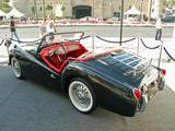 1962 Triumph TR3B Black Tani Rieben