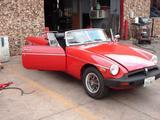 1978 MG MGB RED Alex A