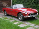 1974 MG MGB Damask Red Augusto Basigaluz