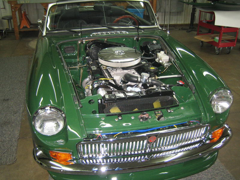 1977 MG MGB V8 Conversion (GHN5UH430776G) : Registry : The