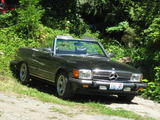 1974 Mercedes Benz R107