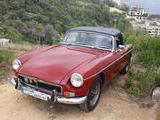 1973 MG MGB Red Patrick Aznavourian