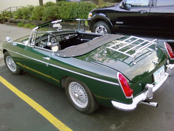 MG   NEW  BLACK MGB ROADSTER VINYL REAR BULK RAIL  COCKPIT RAIL COVER    ***