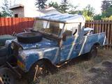 1955 Land Rover Series I Blueish Kris Schmidt