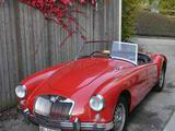 1958 MG MGA Twin Cam Orient Red Richard Dent